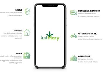 Vai agli articoli Parte la campagna di JustMary, tra i primi delivery di canapa legale a Milano