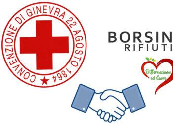 Go to article Differenziamo col cuore: la collaborazione tra Borsino Rifiuti e Croce Rossa