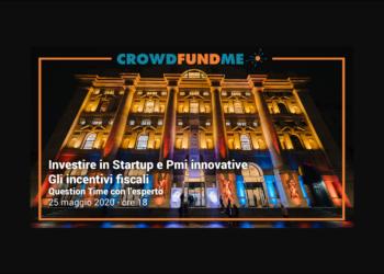 Go to article Webinar sulle agevolazioni fiscali e partnership con i3P, ecco le novità di CrowdFundMe