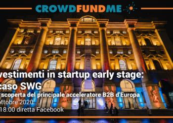 Vai agli articoli Partecipa al Webinar dedicato agli investimenti in startup early stage con SWG!