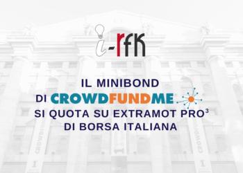 Vai agli articoli Dallo sbarco in Borsa del minibond di i-RFK alla raccolta di Feat Food: le novità di CrowdFundMe!